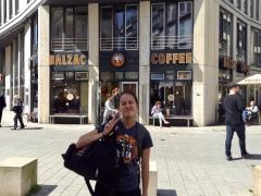 this coffee tasted like Balzac