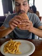 hamburger in Hamburg!