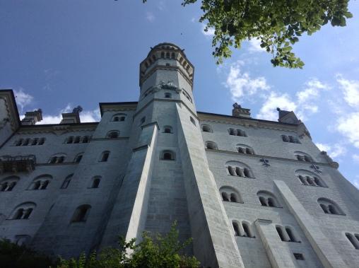Neuschwanstein up close
