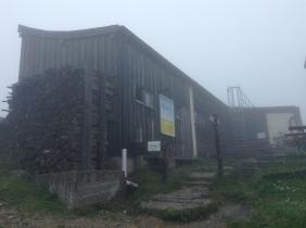 the summit hut