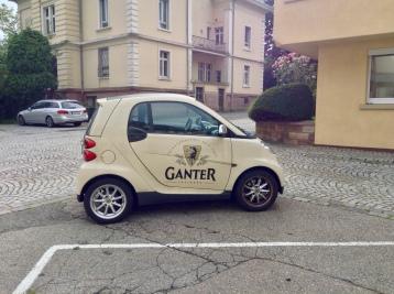 the Gantermobile!