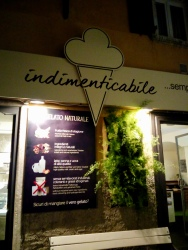"""""""Unforgettable"""" in english, and this gelateria truly is. I haven't experienced many things in life as enjoyable as this. We're making an effort to try every flavor before we leave."""