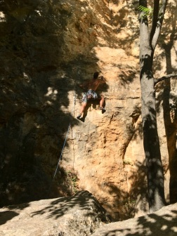 Thin start on the 7b