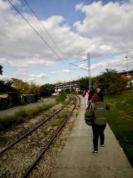 train station in Belgrade