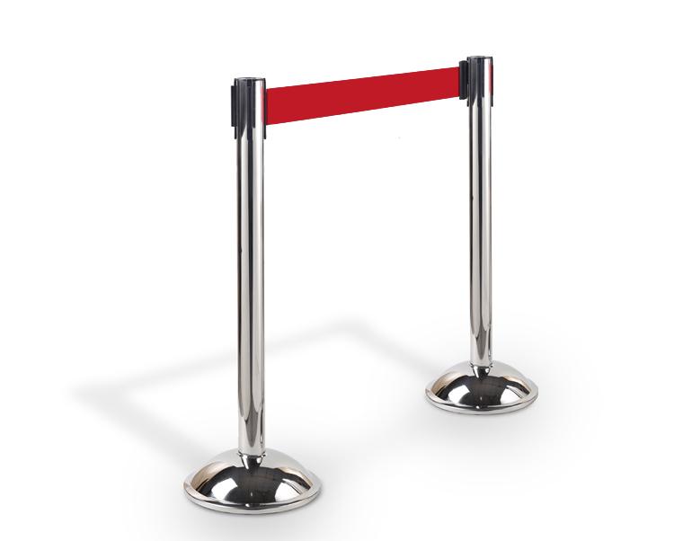 belt stanchion (retractable belt railing3)
