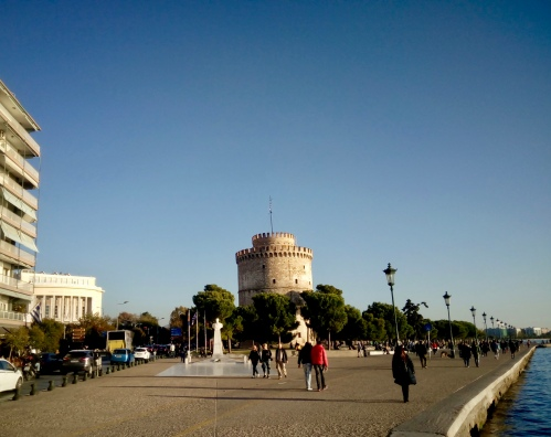 some famous thing in Thessaloniki. Snap a photo. Check. Done. Now I've seen Thessaloniki