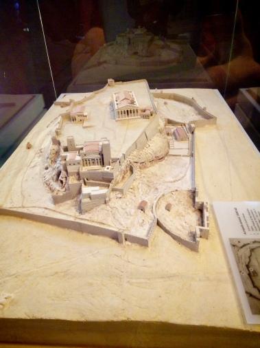 Acropolis around 1500 AD