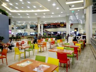 mall foodcourt...