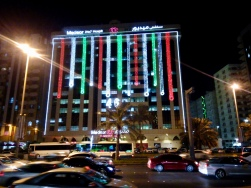 The extravagant lights made it feel like italian Christmas